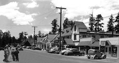 Big Bear Lake Village  San Bernardino Mtns., c.1949
