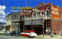 The Brass Rail Virginia City, c.1957