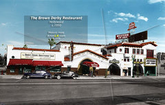 The Brown Derby, Hollywood, 1940s