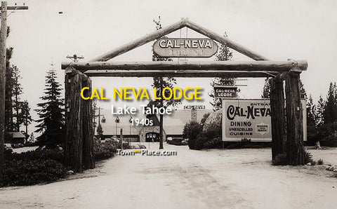 Cal Neva Lodge, Lake Tahoe c.1940s