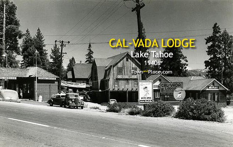Cal-Vada Lodge, Lake Tahoe, 1940s
