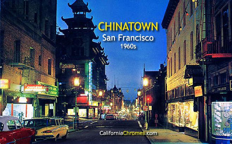 Chinatown San Francisco, c.1960
