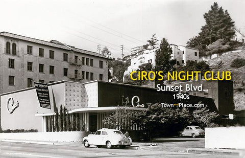 Ciro's Nightclub #1, Hollywood, 1940s