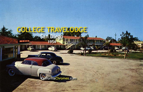 College TraveLodge San Diego, 1954