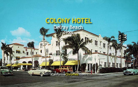 Colony Hotel Delray Beach, c.1950