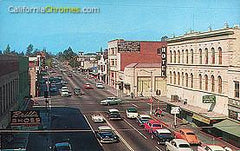 8th Street Looking North Colton, c.1955
