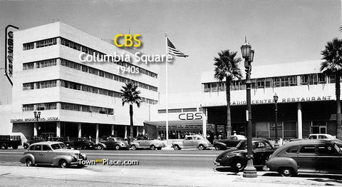 CBS - Columbia Square, Hollywood, 1940s