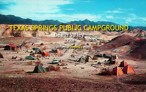 Texas Springs Public Campground Death Valley, c.1958
