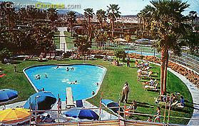 The Desert Air Hotel & Resort Pool c.1960