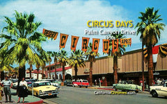 Circus Days, Palm Canyon Drive c.1958