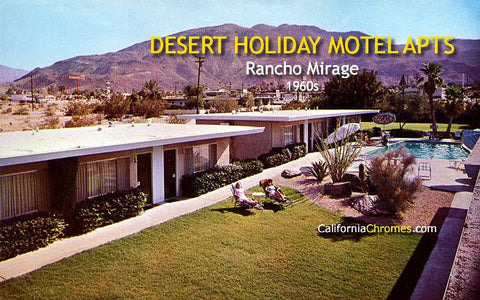 Desert Holiday Motel Apartments Rancho Mirage, c.1960