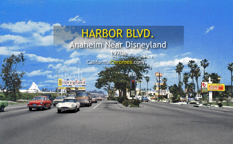 ANAHEIM, California - Harbor Blvd.