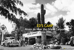 Ed's Camp, Route 66, 1940s
