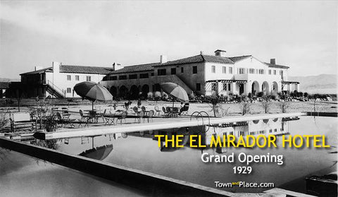 The El Mirador Hotel, Palm Springs, 1920s