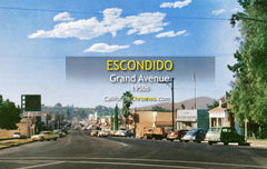 GRAND AVENUE - Escondido, California 1950s