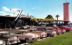 THE FLAMINGO HOTEL - Las Vegas, Nevada 1950s