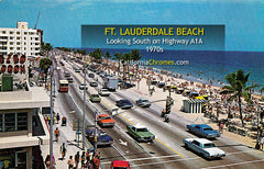 FT. LAUDERDALE BEACH - Florida 1970s