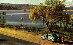 A View of Henshaw Lake San Diego County, c.1950