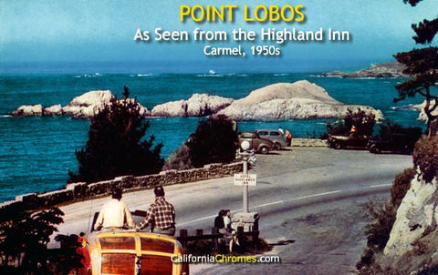 Point Lobos as Seen from the Highland Inn Carmel, c.1957