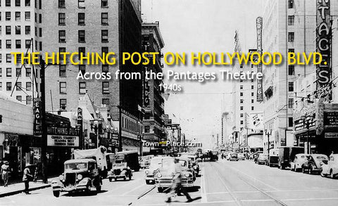 The Hitching Post on Hollywood Blvd., 1940s