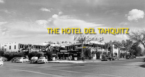 Hotel Del Tahquitz Panoramic, Palm Springs, 1940s