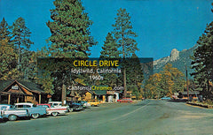 CIRCLE DRIVE - Idyllwild, California 1960s