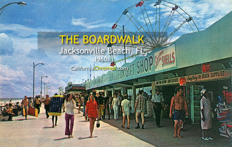 JACKSONVILLE BEACH, Florida - The Boardwalk