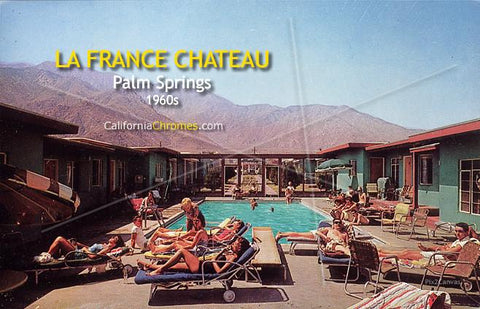 "La France Chateau - ""Fountain of Youth"" c.1960"