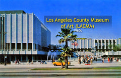 LOS ANGELES COUNTY MUSEUM OF ART, Los Angeles 1960s