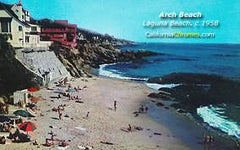 Arch Beach Laguna Beach, c.1958