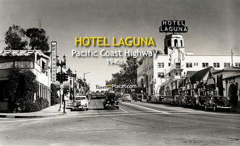 Hotel Laguna, Pacific Coast Highway, 1940s