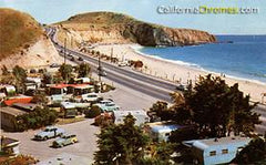 Laguna Beach, Trailer Park, 1950s