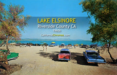 LAKE ELSINORE, California - Elsinore West Marina 1960s