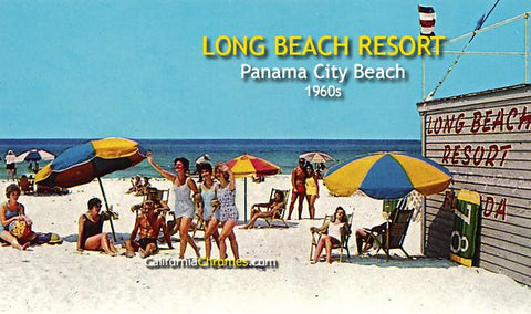 Long Beach Resort Panama City Beach, c.1960