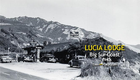 Lucia Lodge, Big Sur Coast c.1940s