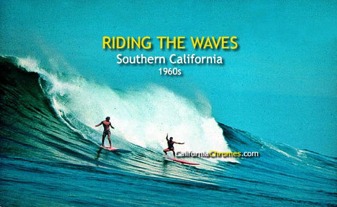 Riding the Waves Southern Cal, c.1965