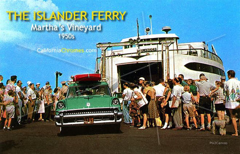 The Islander Ferry, Martha's Vineyard, 1950s