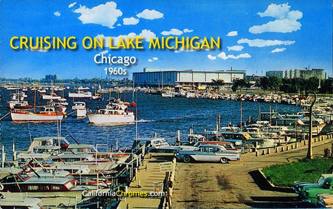 Cruising on Lake Michigan Chicago, c.1960