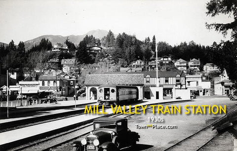 Mill Valley Train Station c.1930s