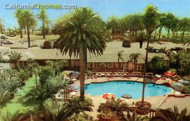 The Pool at the Hotel Miramar Santa Monica, c.1950