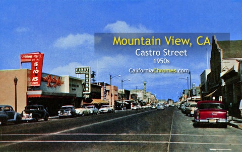 MOUNTAIN VIEW, California - Castro Street