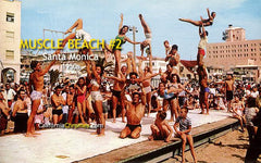 Muscle Beach #2 Santa Monica, c.1958