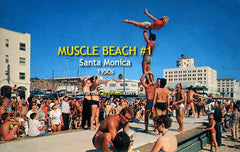Muscle Beach #1 Santa Monica, c.1958
