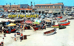 DORY FISH MARKET - Newport Beach, 1950s