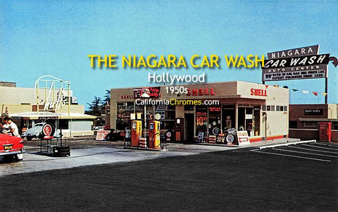 The Niagara Car Wash c.1950