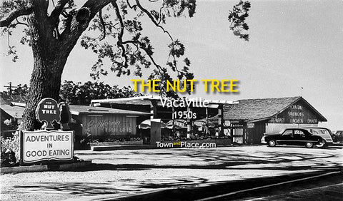 The Nut Tree, Vacaville, 1950s