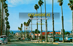 MISSION AVENUE - Oceanside, California - 1960s
