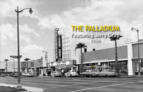 The Palladium, Hollywood, 1950s