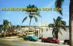 Palm Beach Biltmore & Yacht Basin Palm Beach, c.1955