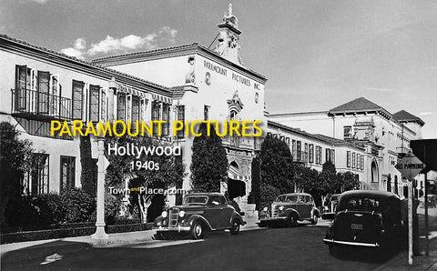 Paramount Pictures, Hollywood, 1940s